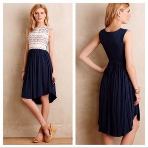 HTF! Navy Sabado Dress by Dolan Left Coast - Med